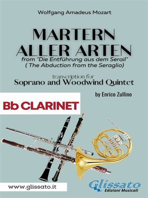 cover image of Martern aller Arten--Soprano and Woodwind Quintet (Bb Clarinet)