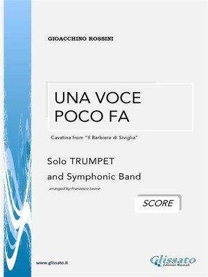 cover image of Una Voce Poco Fa / G.Rossini (SCORE)
