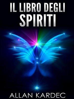 cover image of Il libro degli Spiriti