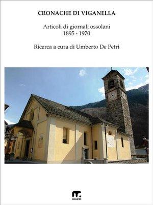 cover image of Cronache di Viganella