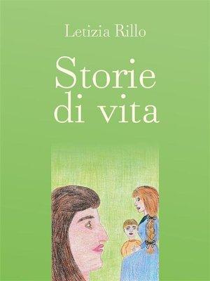 cover image of Storie di Vita