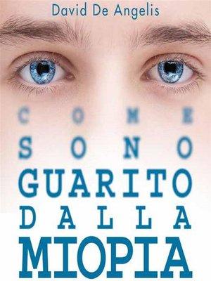 cover image of Come sono guarito dalla miopia