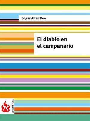 cover image of El diablo en el campanario (low cost). Edición limitada
