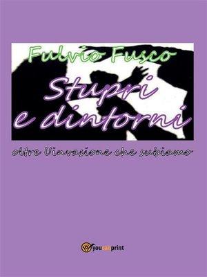 cover image of Stupri e dintorni