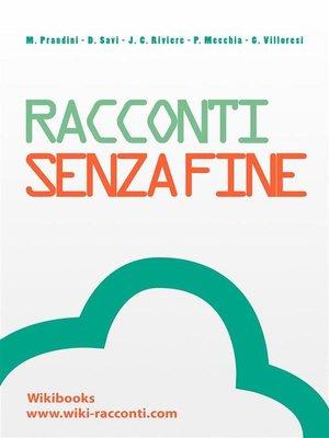 cover image of Racconti, senza fine