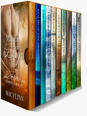 cover image of Maiden to the Dragon--Complete Box Set (Dragon Shifter Romance)