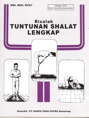 cover image of Risalah Tuntunan Shalat Lengkap