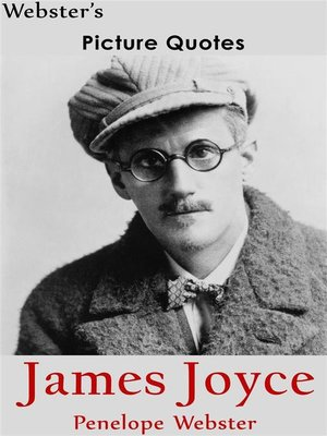 cover image of Webster's James Joyce Picture Quotes