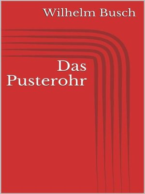 cover image of Das Pusterohr