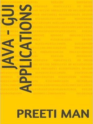 cover image of Java--GUI Applications