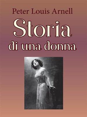 cover image of Storia di una donna