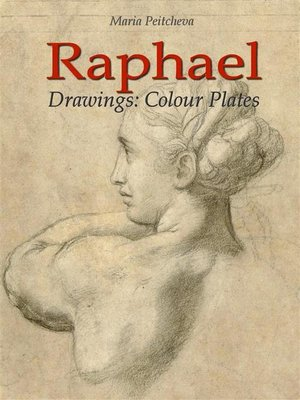 cover image of raphael drawings colour plates