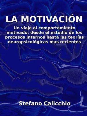 cover image of La motivación