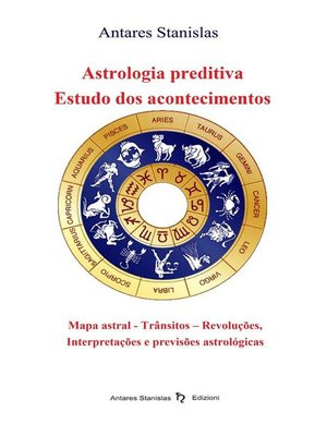 cover image of Astrologia preditiva. Estudo dos acontecimentos