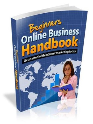 cover image of Beginners Online Business Handbook
