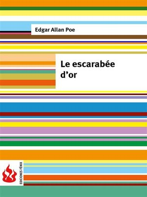 cover image of Le escarabée d'or (low cost). Édition limitée