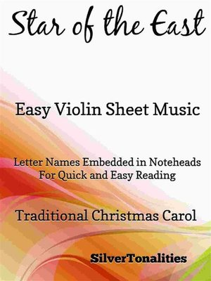 cover image of Star of the East Easy Violin Sheet Music