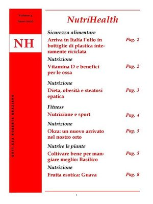 cover image of NutriHealth