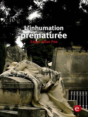 cover image of L'inhumation prématurée