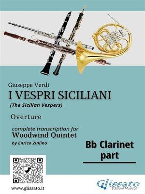 "cover image of Bb Clarinet part of ""I Vespri Siciliani""--Woodwind Quintet"