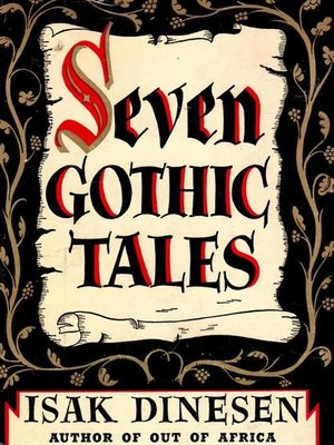 cover image of Seven Gothic Tales