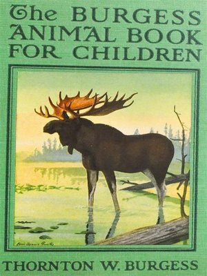 cover image of The Burgess Animal Book for Children