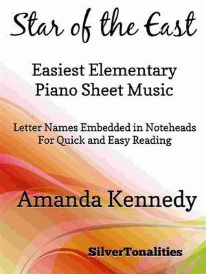 cover image of Star of the East Easiest Elementary Piano Sheet Music