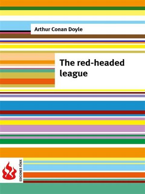 cover image of The red-headed league (low cost). Limited edition