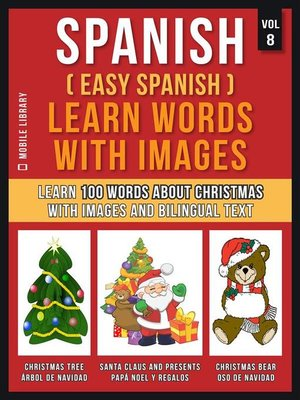 cover image of Spanish ( Easy Spanish ) Learn Words With Images (Vol 8)