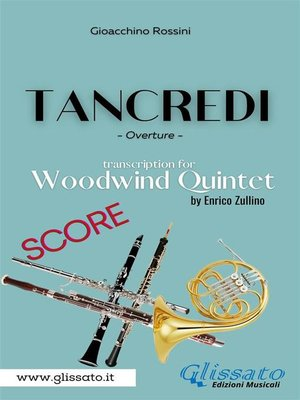 cover image of Tancredi--Woodwind Quintet (Score)