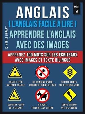 cover image of Anglais ( L'Anglais facile a lire )--Apprendre L'Anglais Avec Des Images (Vol 9)