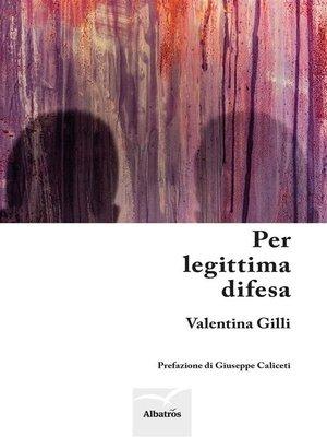 cover image of Per legittima difesa