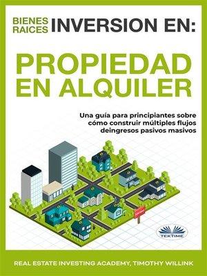 cover image of Inversión En Bienes Raíces--Propiedad En Alquiler