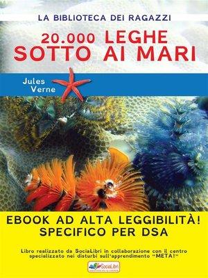 cover image of 20.000 leghe sotto i mari