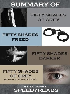 cover image of Summary of Fifty Shades of Grey, Fifty Shades Freed, Fifty Shades Darker, and Grey--Fifty Shades of Grey as told by Christian  Boxset