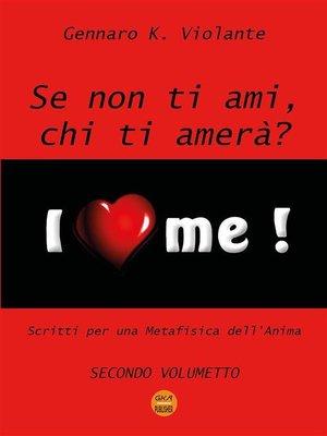 cover image of Se non ti ami, chi ti amerà?