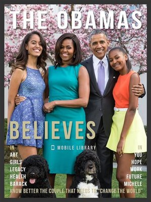 cover image of The Obamas Believes--Obama Quotes and Believes