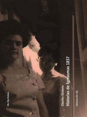 cover image of Historias de fantasmas 1837