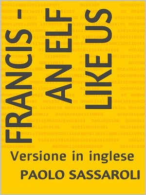 cover image of Francis--an elf like us