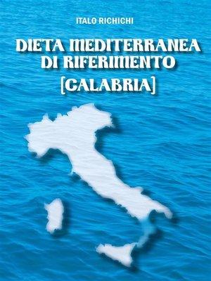 cover image of Dieta Mediterranea di riferimento [Calabria]