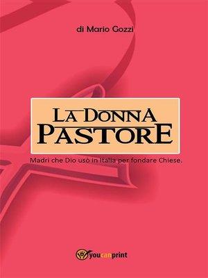 cover image of La donna pastore