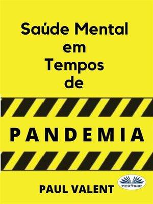 cover image of Saúde Mental Em Tempos De Pandemia