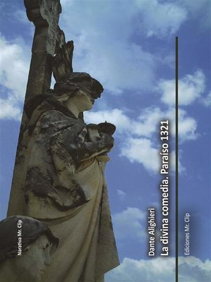 cover image of La divina comedia. Paraíso 1321