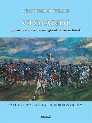 cover image of Comandi