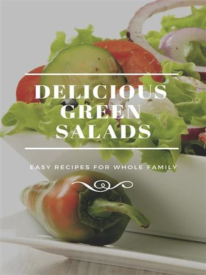 cover image of Delicious Green Salads