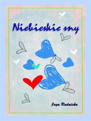 cover image of Niebieskie sny