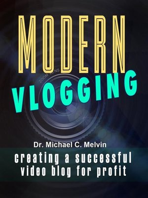 cover image of Modern Vlogging