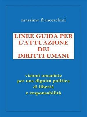 cover image of Linee guida per l'attuazione dei diritti umani