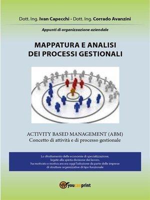 cover image of Mappatura e analisi dei processi gestionali