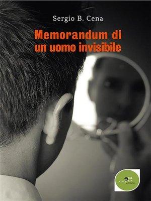 cover image of Memorandum di un uomo invisibile